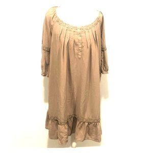 Taupe Old Navy dress/tunic